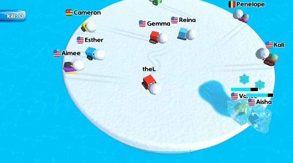 Play Snow War.io Unblocked Online